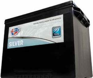 Automotive Batteries Silver