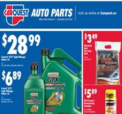 Auto Supplies Flyer