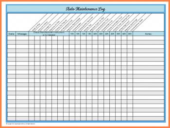 Car Maintenance Log >> Basic Car Maintenance Schedule
